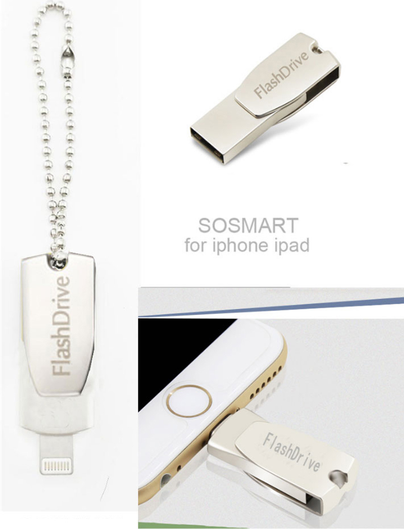 Fashionable iPhone iPad Macbook Flash Drive 8G 16G MUD01_8
