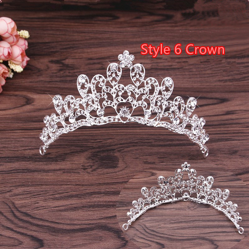 Perfect Necklace Earrings Crown Three Sets For Wedding Bride Jewelry NLC10_15
