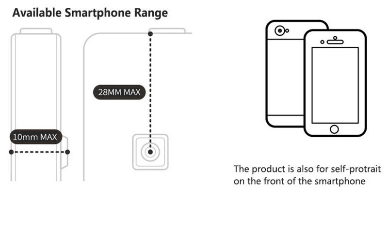 Samsung iPhone Wide Macro Fisheye Angle Lens Universal External Camera PHE03_10