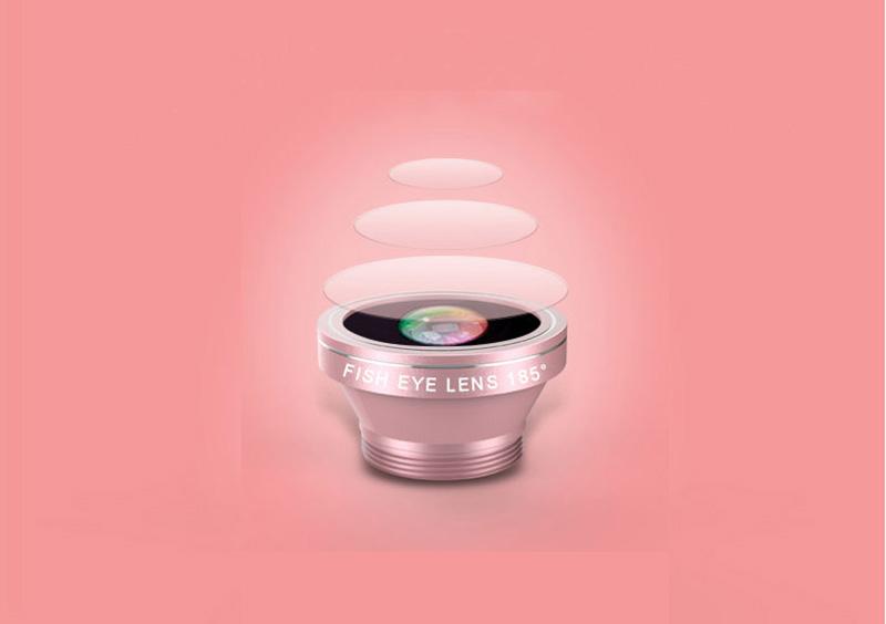 Samsung iPhone Wide Macro Fisheye Angle Lens Universal External Camera PHE03_15
