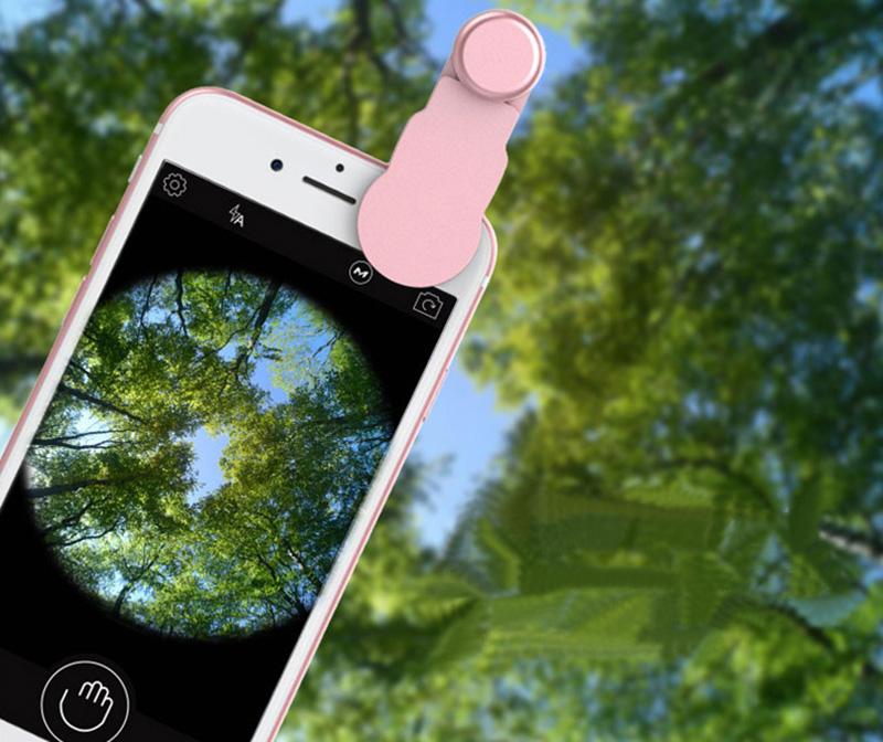Samsung iPhone Wide Macro Fisheye Angle Lens Universal External Camera PHE03_18