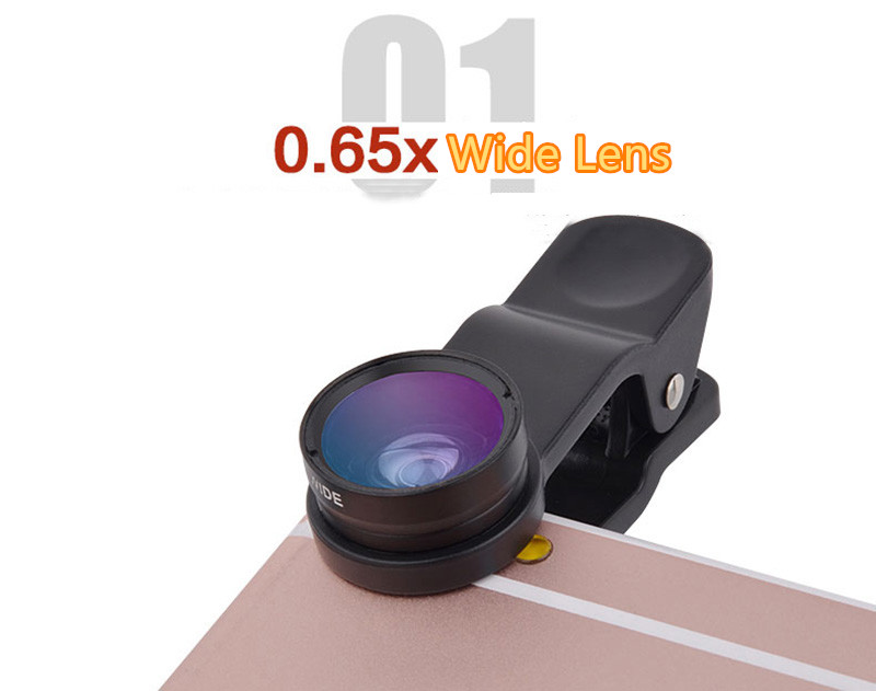 Best Universal Phone External Camera With Wide Macro Fisheye Lens PHE04_11