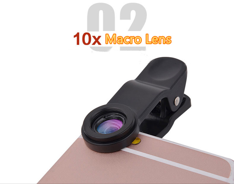 Best Universal Phone External Camera With Wide Macro Fisheye Lens PHE04_13