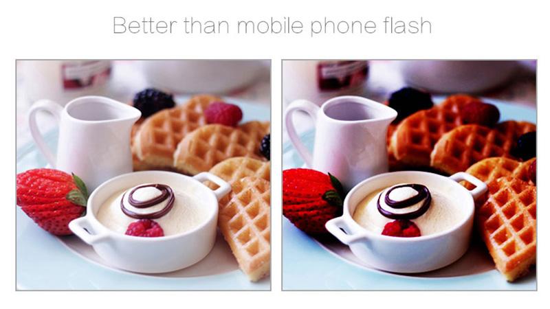 External Fill Light LED Lamp Lens For Phone Selfie Stick PHE05_10