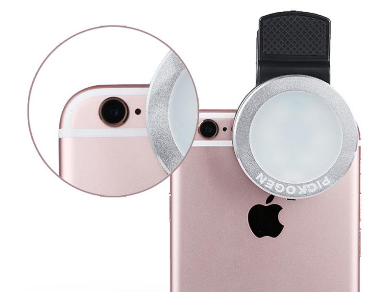 External Fill Light LED Lamp Lens For Phone Selfie Stick PHE05_12