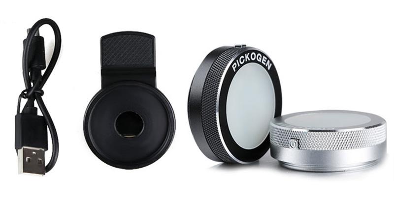 External Fill Light LED Lamp Lens For Phone Selfie Stick PHE05_8