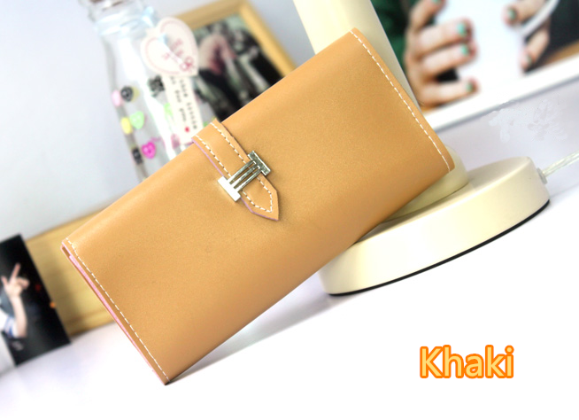 Leather Cell Phone Wallet For Samsung iPhone Smartphone Wallet PW02_14