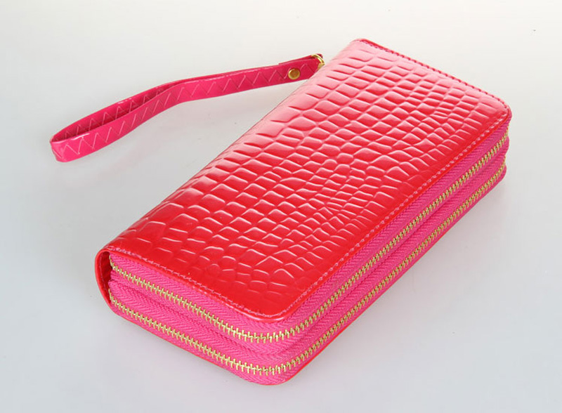 Leather Cell Phone Wallet With CardHolder For iPhone And Sumsung PW03_16