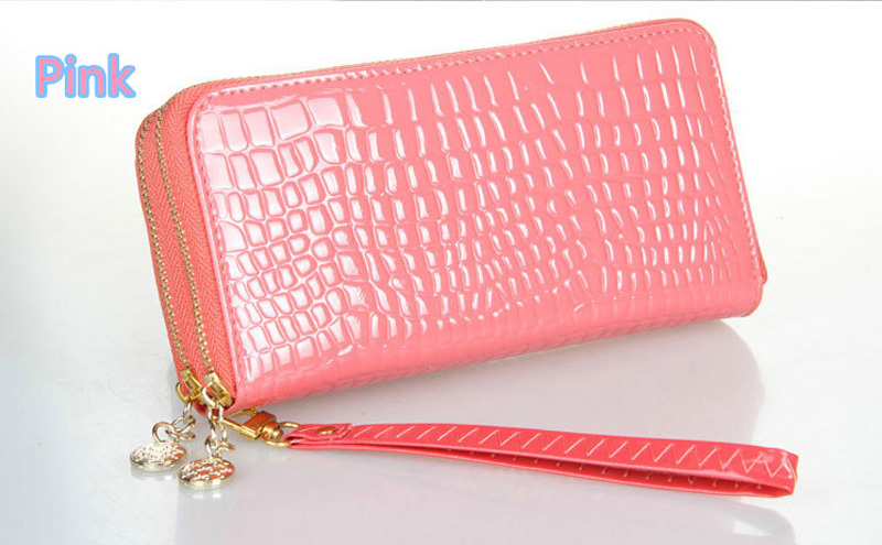 Beautiful And Colorful Women Leather Cell Phone Wallet With CardHolder For iPhone And Sumsung PW03_17