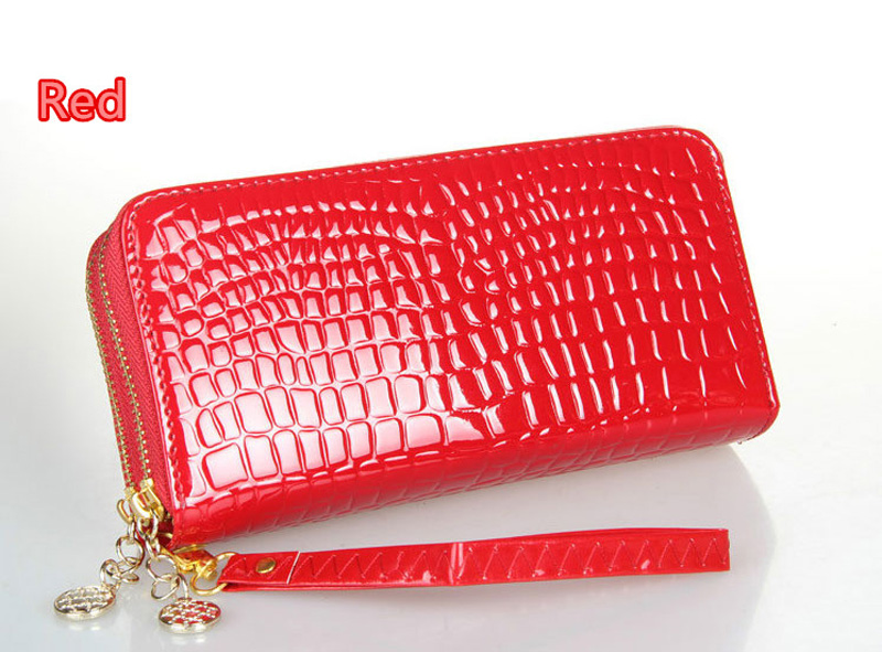 Beautiful And Colorful Women Leather Cell Phone Wallet With CardHolder For iPhone And Sumsung PW03_21
