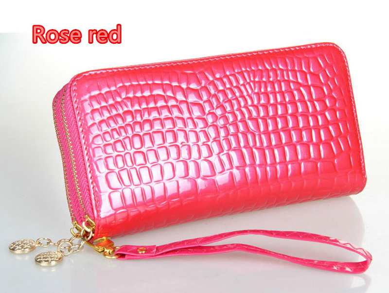 Beautiful And Colorful Women Leather Cell Phone Wallet With CardHolder For iPhone And Sumsung PW03_24