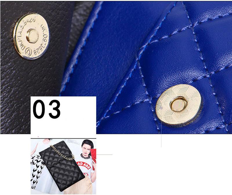Best Mini Messenger Bag 2 Layer Cellphone Wallets PW04_10