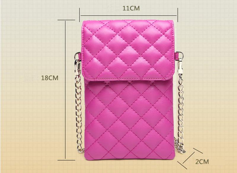 Best Mini Messenger Bag 2 Layer Cellphone Wallets PW04_6
