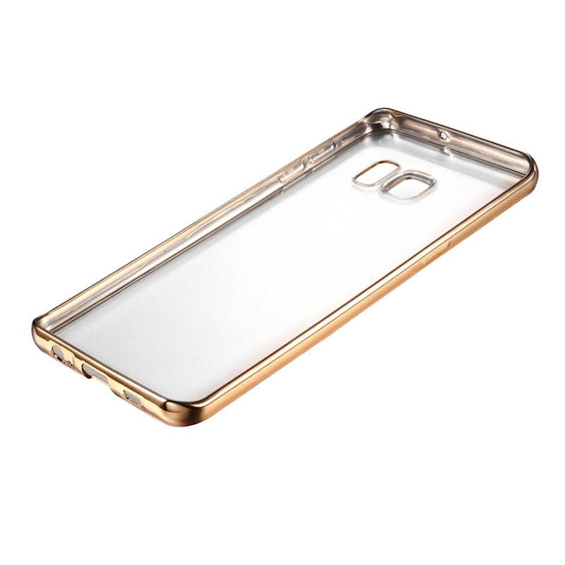 Anti-fall TPU Protective Transparent Cover Case For Samsung S6 And Edge SG601_8