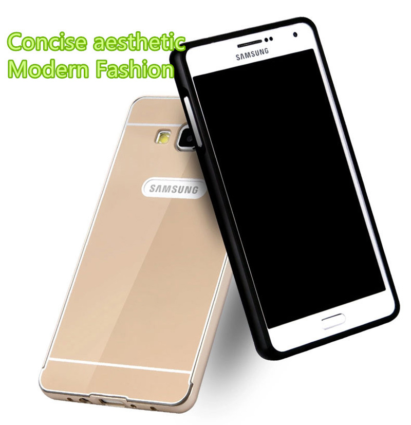 Metal Gold Case Cover With Frame For 2019 Samsung Galaxy S6 SG605_7