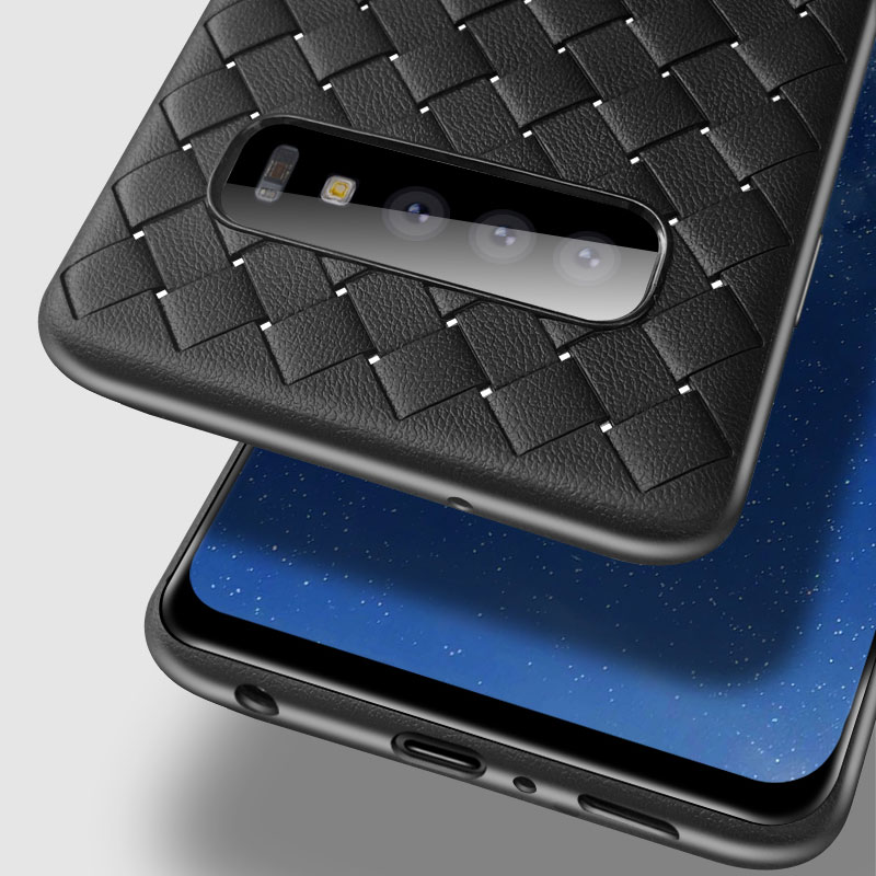 Protective Weave Case For Samsung S20 S10 Plus SG607_11