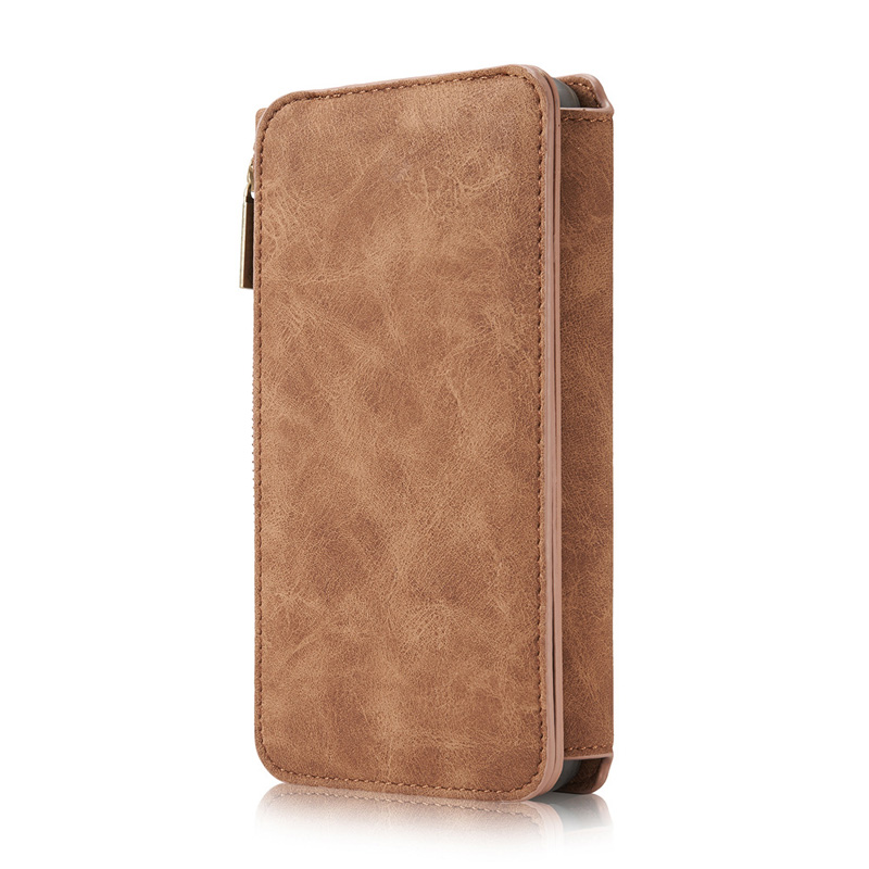 Vintage Leather Wallet Case For Samsung S9 8 7 6 Edge Plus Note 8 5 With Card Slot SG609_9