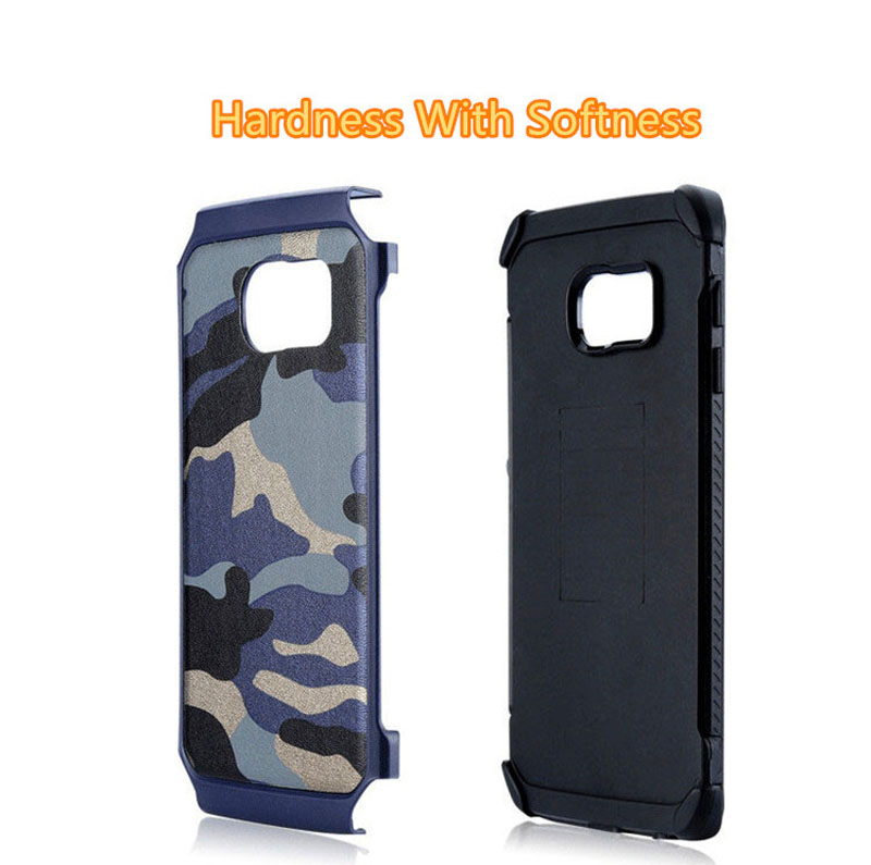 Cool Camouflage Samsung Galaxy S6 And S6 Edge TPU Protective Case Or Covers SG613_10
