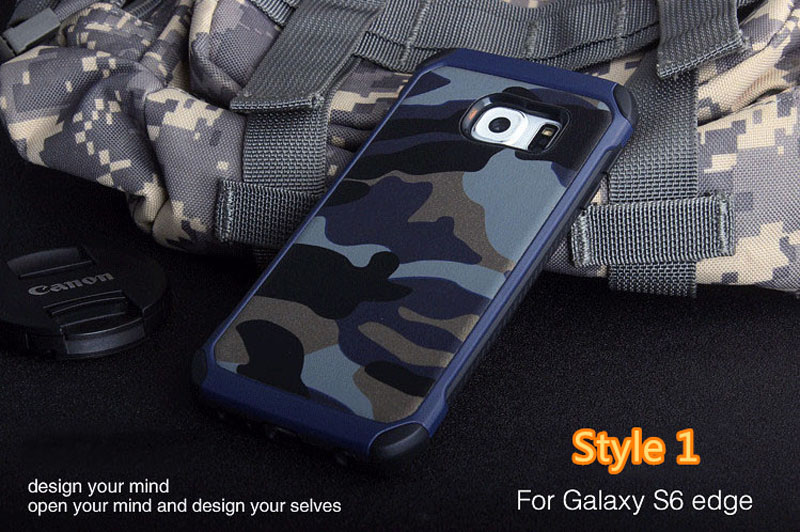 Cool Camouflage Samsung Galaxy S6 And S6 Edge TPU Protective Case Or Covers SG613_12