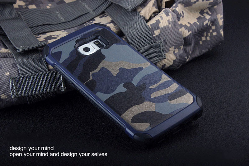 Cool Camouflage Samsung Galaxy S6 And S6 Edge TPU Protective Case Or Covers SG613_13