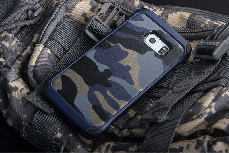 Cool Camouflage Samsung Galaxy S6 And S6 Edge TPU Protective Case Or Covers SG613_14