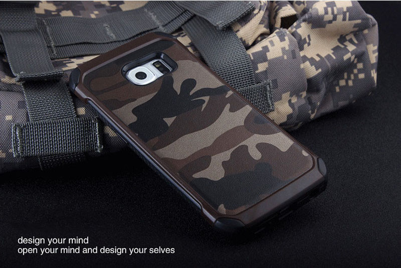Cool Camouflage Samsung Galaxy S6 And S6 Edge TPU Protective Case Or Covers SG613_16