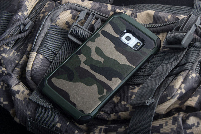 Cool Camouflage Samsung Galaxy S6 And S6 Edge TPU Protective Case Or Covers SG613_20
