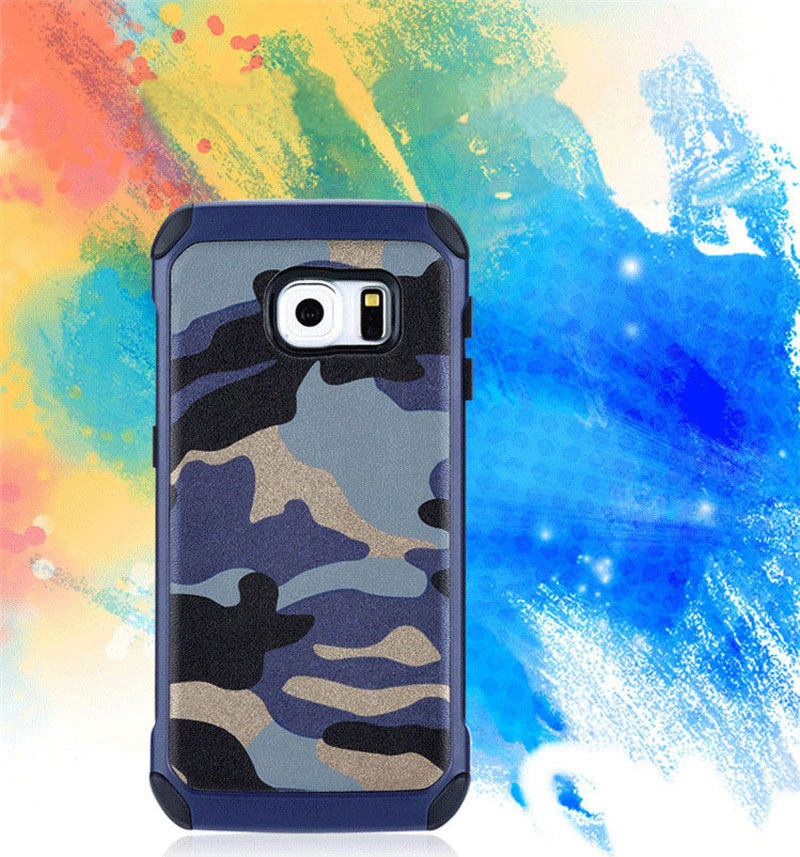 Cool Camouflage Samsung Galaxy S6 And S6 Edge TPU Protective Case Or Covers SG613_7