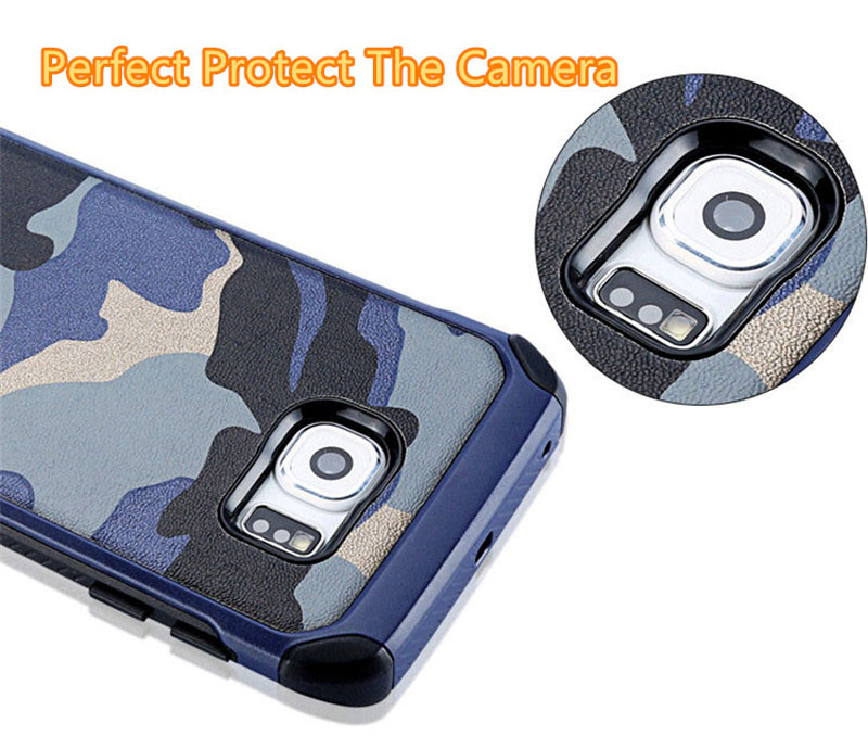 Cool Camouflage Samsung Galaxy S6 And S6 Edge TPU Protective Case Or Covers SG613_8