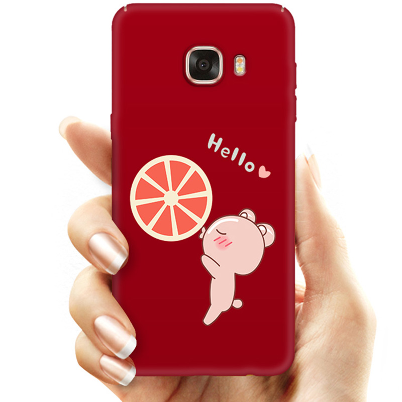 Slim Silicone Cartoon Pattern Galaxy S7 Case Or Covers SG701_9