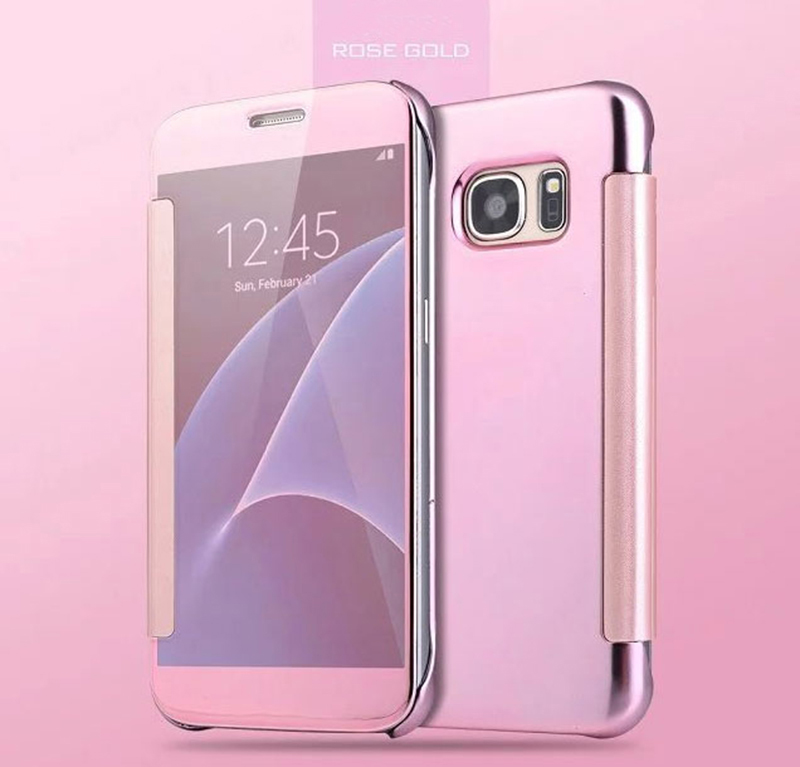 Transparent Clamshell Protective Sleeve Case Or Covers For S7 S6 And S7 Edge SG702_8