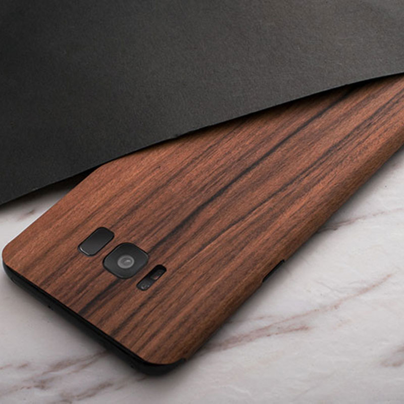 Creative Samsung Note 9 8 S8 S7 Edge Solid Wood Case SG803_10