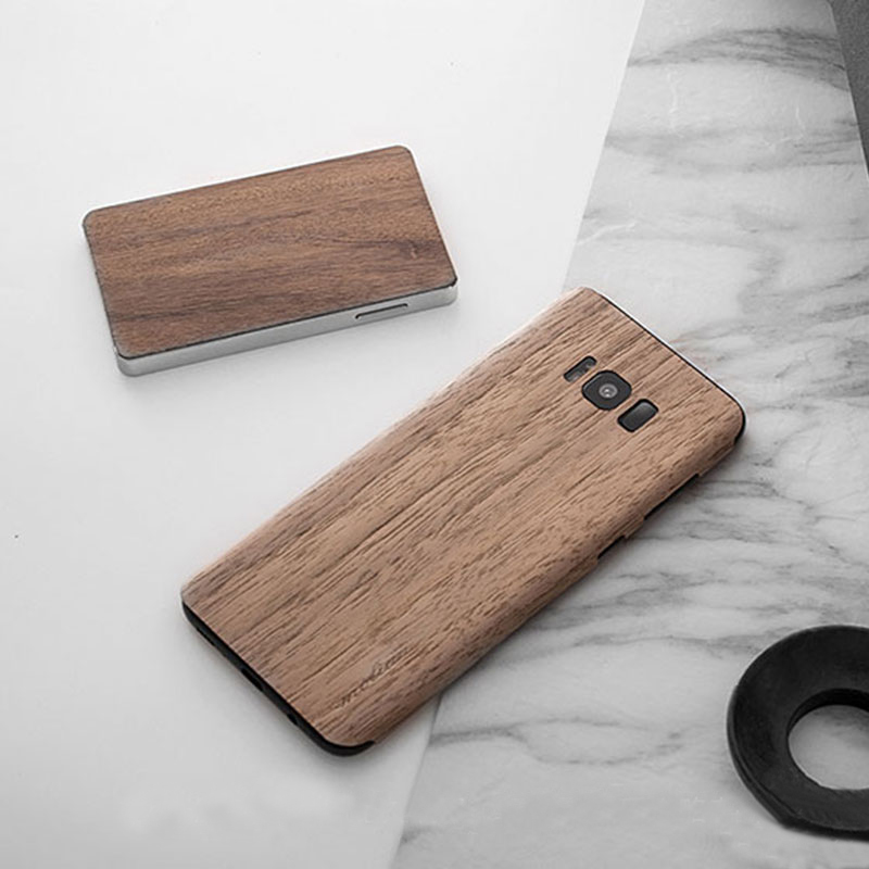 Creative Samsung Note 9 8 S8 S7 Edge Solid Wood Case SG803_11