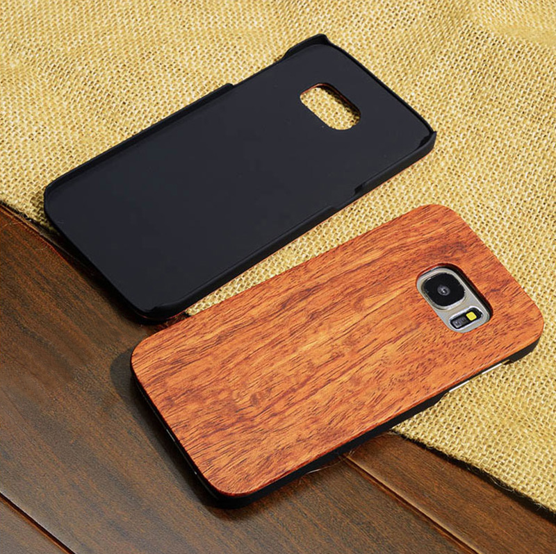 Creative Carved Samsung S8 S7 Edge S8+ Solid Wood Case SG803_12
