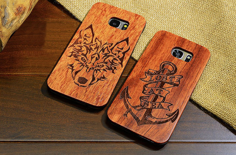 Creative Carved Samsung S8 S7 Edge S8+ Solid Wood Case SG803_15