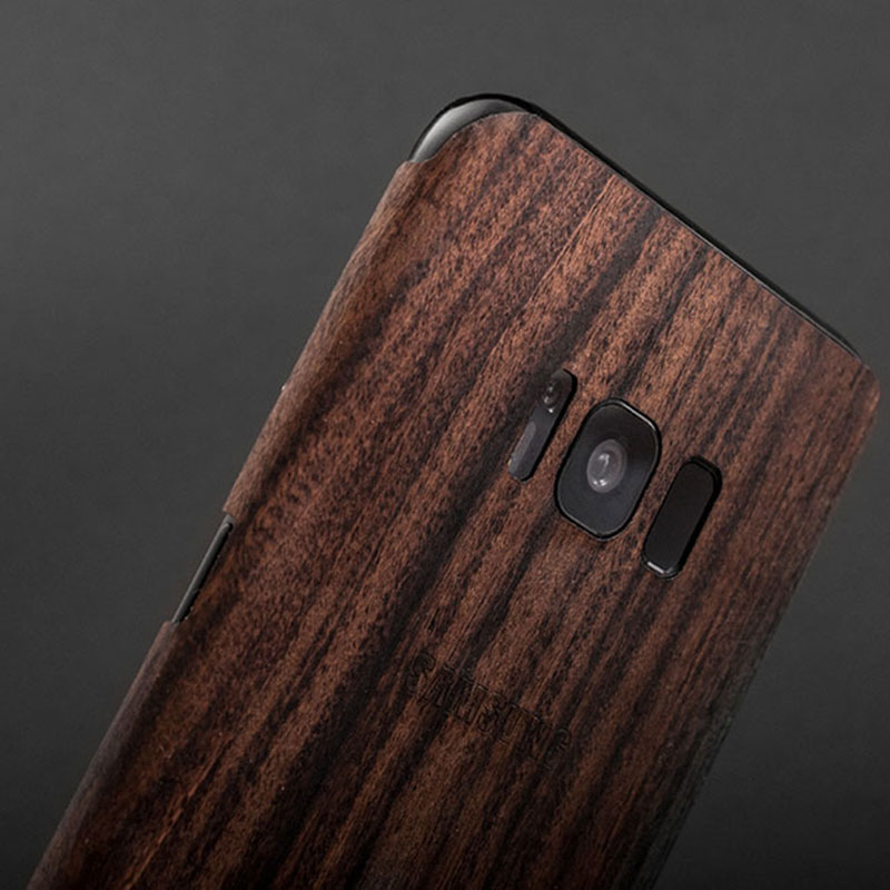 Creative Samsung Note 9 8 S8 S7 Edge Solid Wood Case SG803_8
