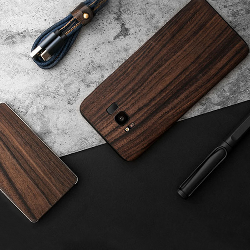 Creative Samsung Note 9 8 S8 S7 Edge Solid Wood Case SG803_9