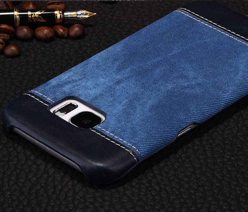 Leather Samsung S8 S7 S6 Edge Protective Case Cover SG806_9