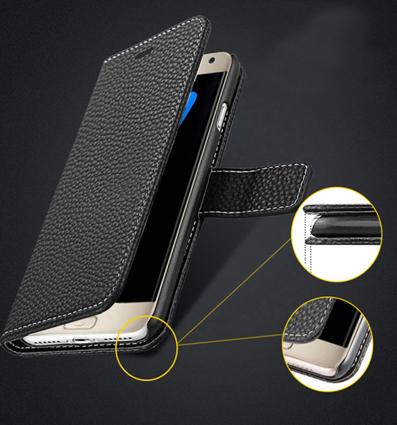 Protective Leather Case Cover For Samsung S8 Plus S7 S6 Edge SG807_10