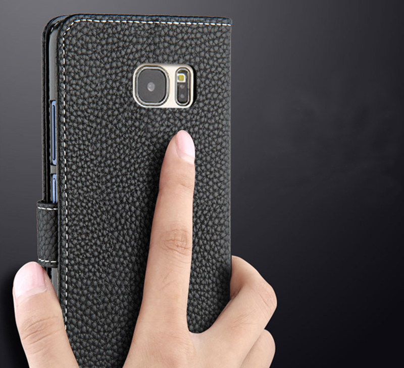 Protective Leather Case Cover For Samsung S8 Plus S7 S6 Edge SG807_11