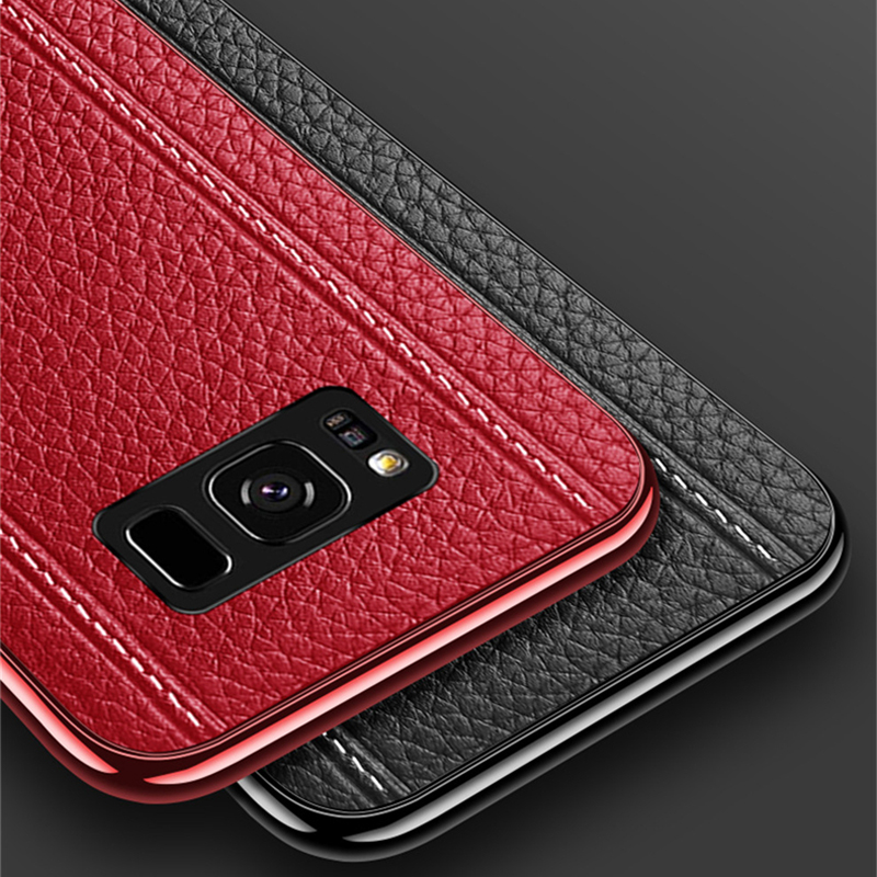 All-inclusive Real Protective Leather Case For Samsung S9 S8 Plus SG809_10