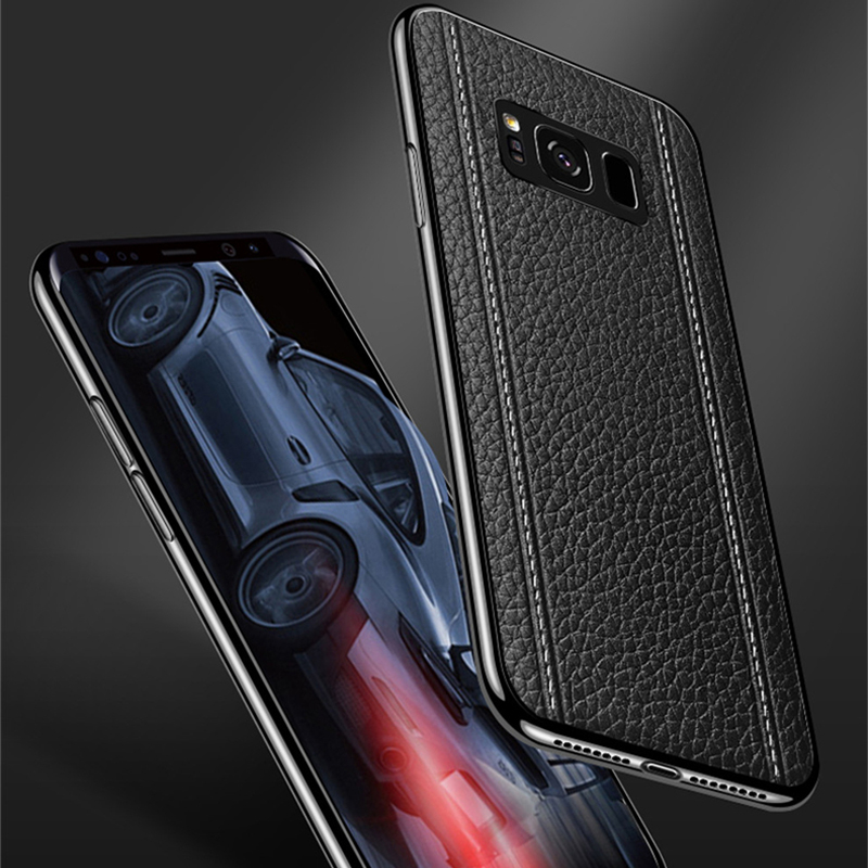All-inclusive Real Protective Leather Case For Samsung S9 S8 Plus SG809_8