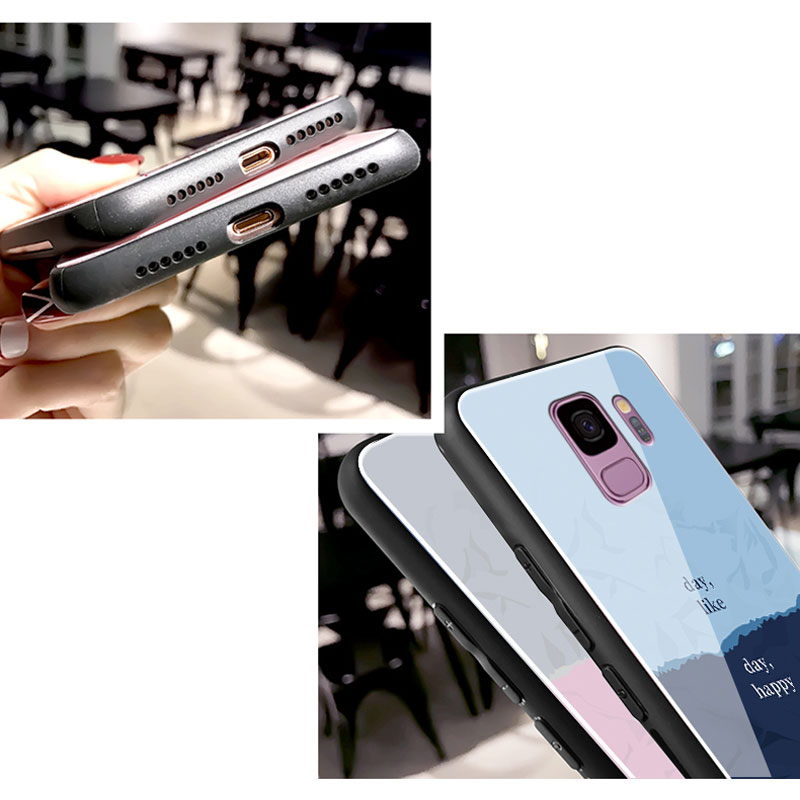 Creative Color Block Case For Samsung Note 10 9 8 S10 9 8 Plus SGN802_10