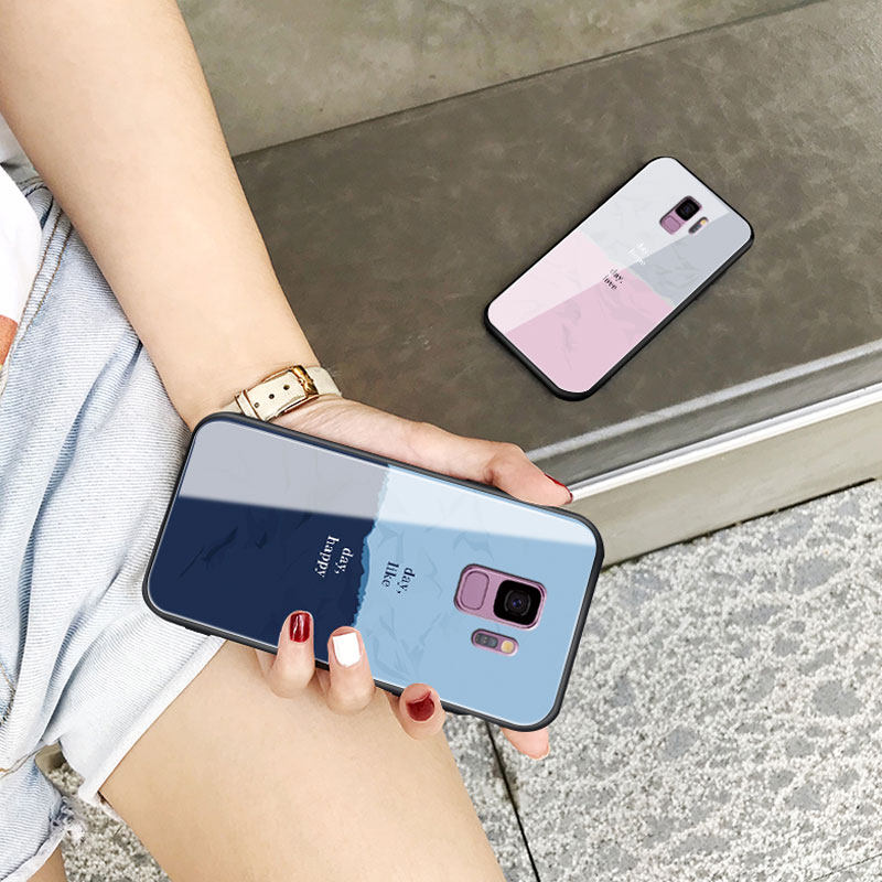 Creative Color Block Case For Samsung Note 10 9 8 S10 9 8 Plus SGN802_8