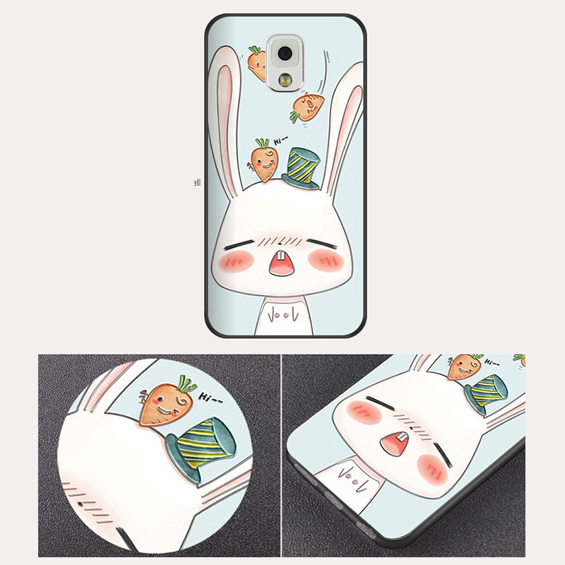 Creative Cartoon Samsung Note 9 8 5 4 Silicone Case Cover SGN905_10