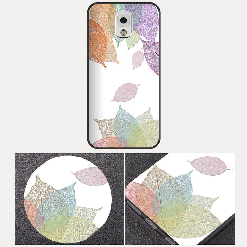 Creative Cartoon Samsung Note 9 8 5 4 Silicone Case Cover SGN905_11