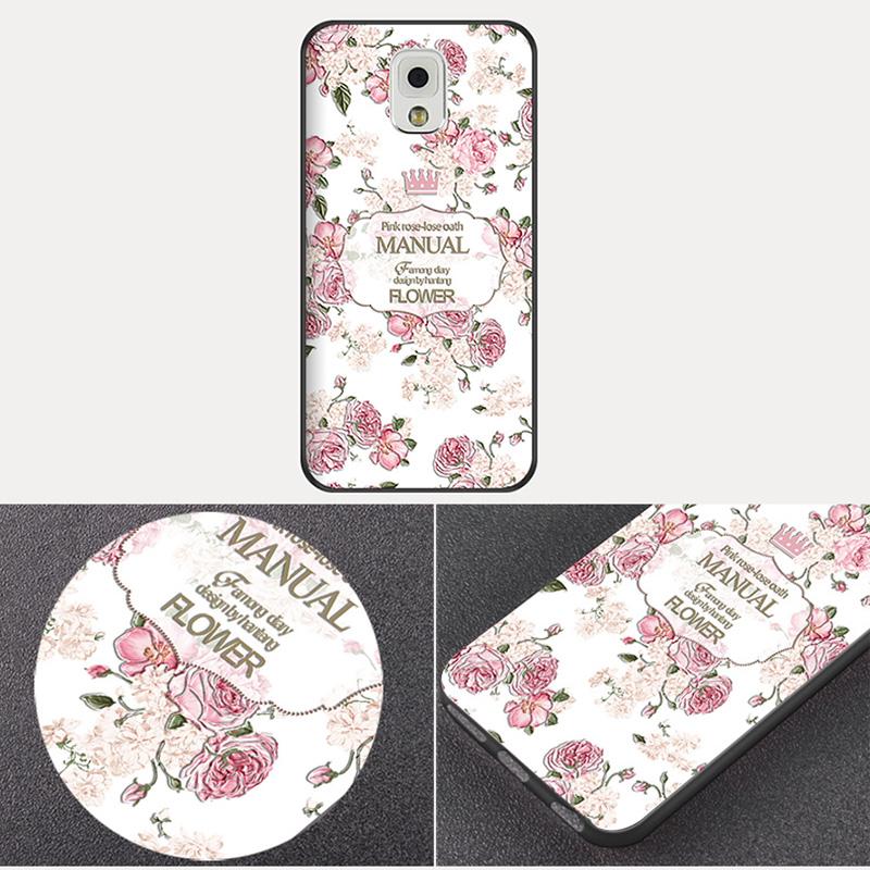 Creative Cartoon Samsung Note 9 8 5 4 Silicone Case Cover SGN905_12
