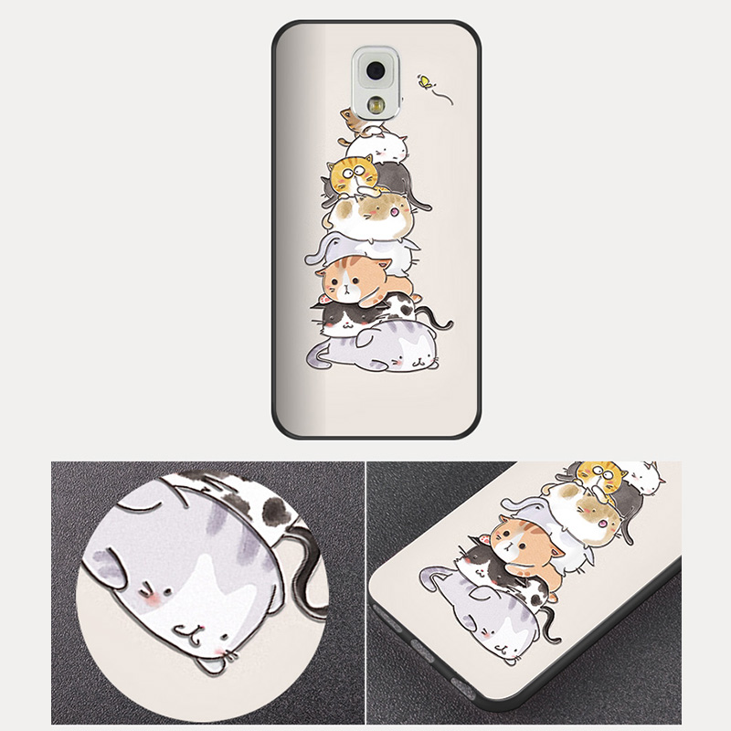 Creative Cartoon Samsung Note 9 8 5 4 Silicone Case Cover SGN905_9