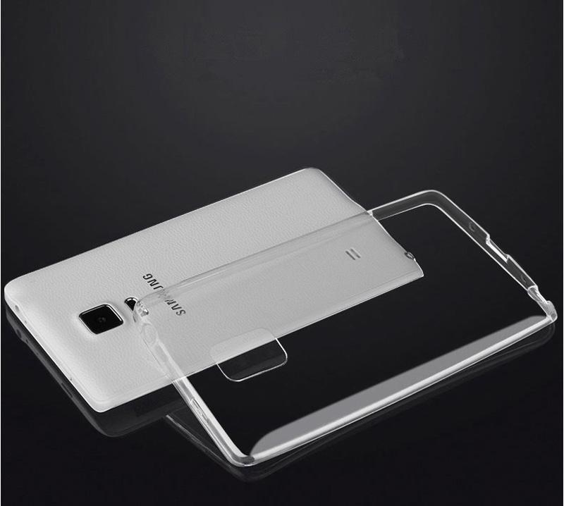 Cheap Slim Pink Silicone Samsung Galaxy Note Edge Case SGNE02_10