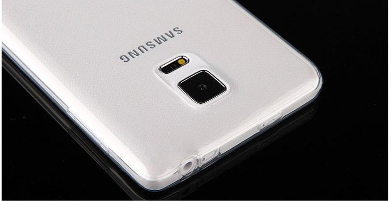 Cheap Slim Pink Silicone Samsung Galaxy Note Edge Case SGNE02_13
